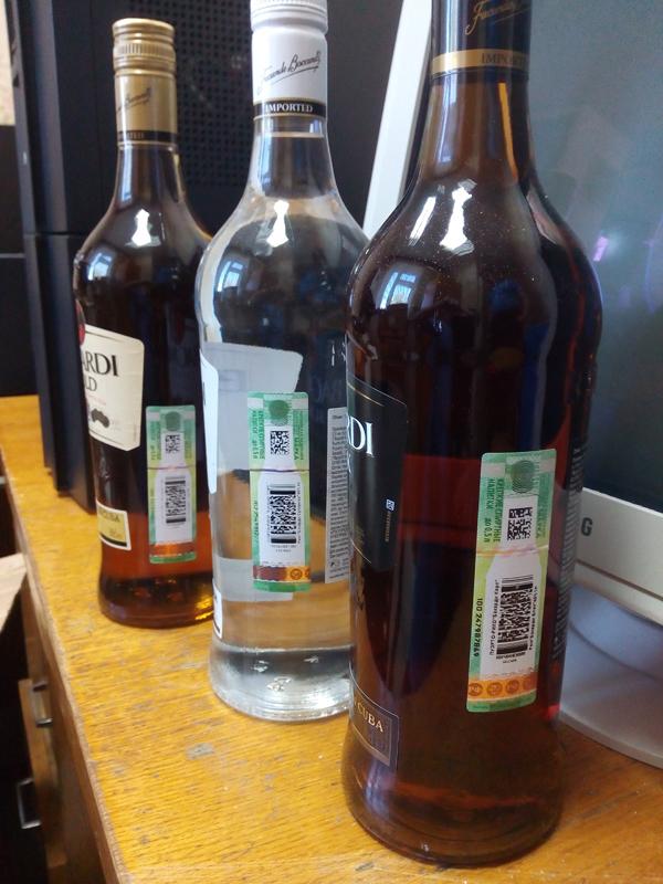 Контрабандное спиртное изъято полностью